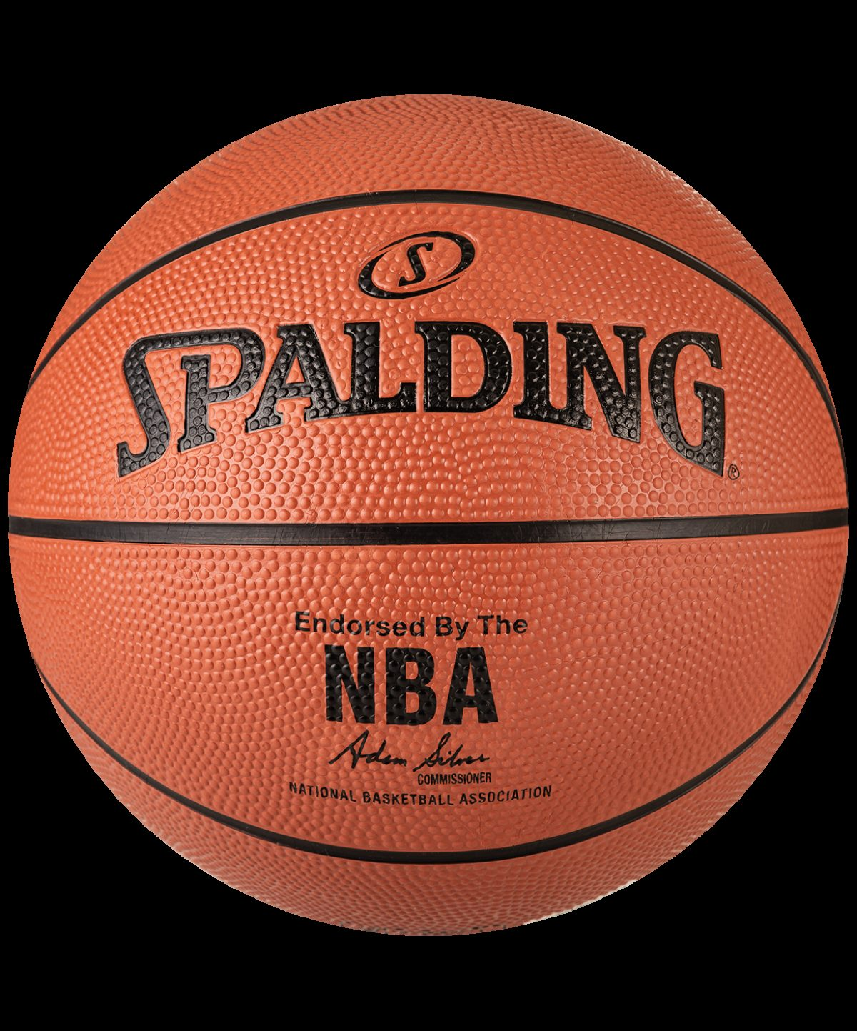 SPALDING NBA Silver Мяч баскетбольный  83016Z №7 - 2