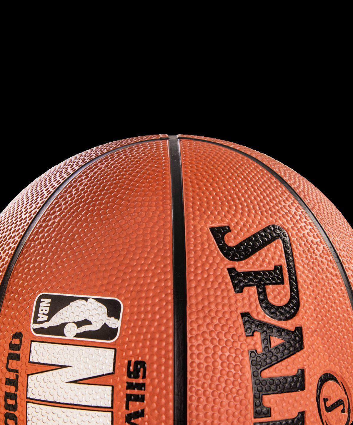 SPALDING NBA Silver Мяч баскетбольный  83016Z №7 - 4