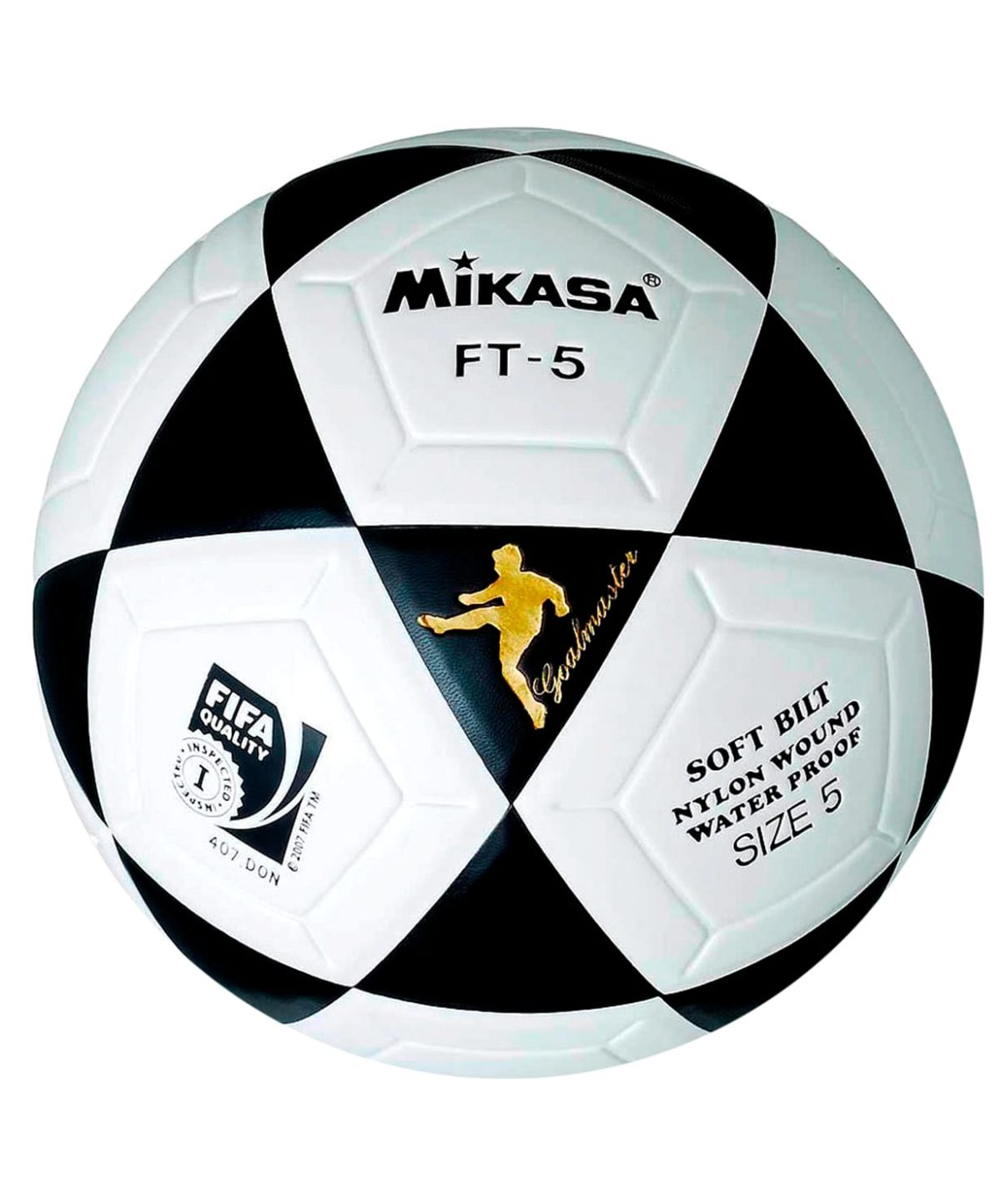 MIKASA Мяч футбольный FIFA FT-5 №5 - 1