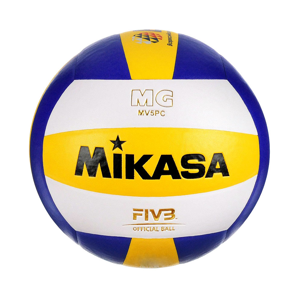 MIKASA Мяч волейбольный MV5PC №5 - 1