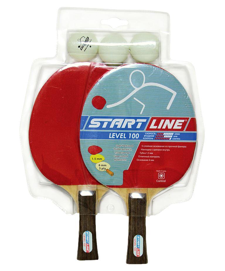 START LINE Level 100 Набор для настольного тенниса  61200 - 1