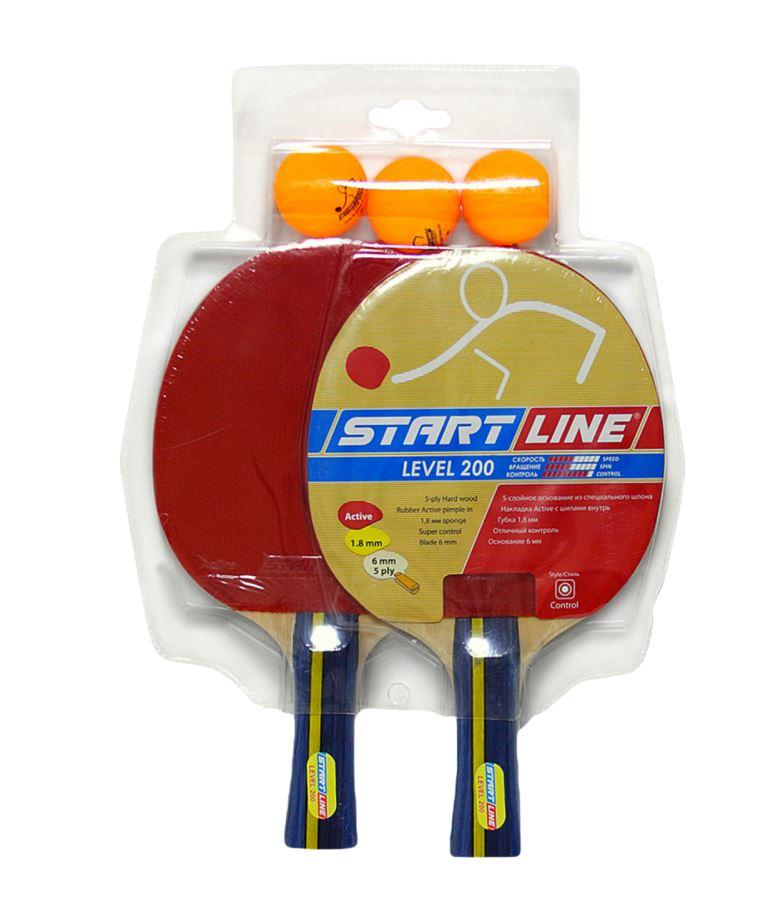 START LINE Level200 Набор для настольного тенниса  61300 - 1