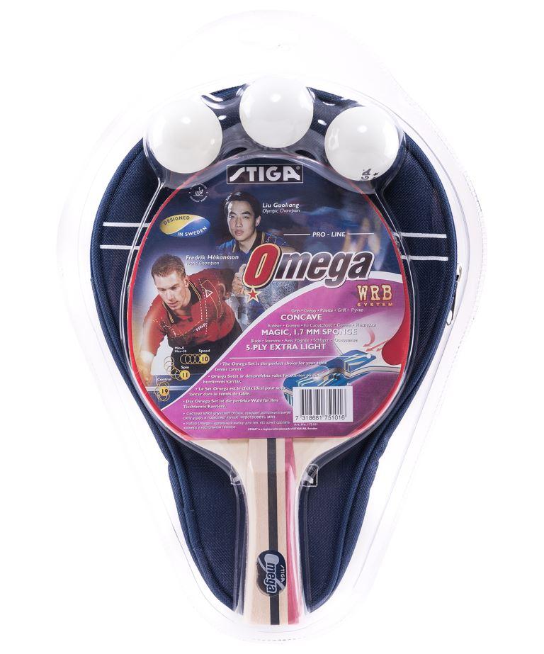 STIGA OMEGA WRB Набор для настольного тенниса  12254 - 1