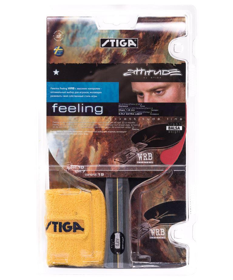 STIGA 2*Targus ACS Ракетка для настольного  тенниса с напульсником  12256 - 1