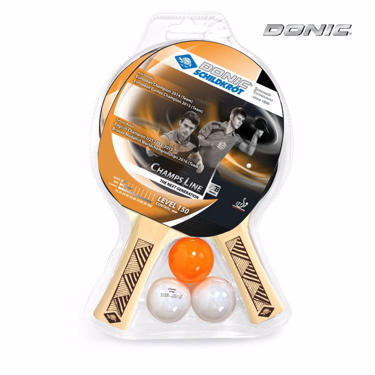 DONIC Champs 150 набор для настольного тенниса - 1