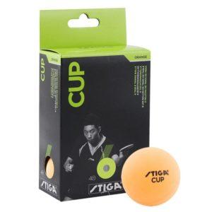 STIGA Cup Мяч для настольного  тениса  5115-06 оранж. - 17