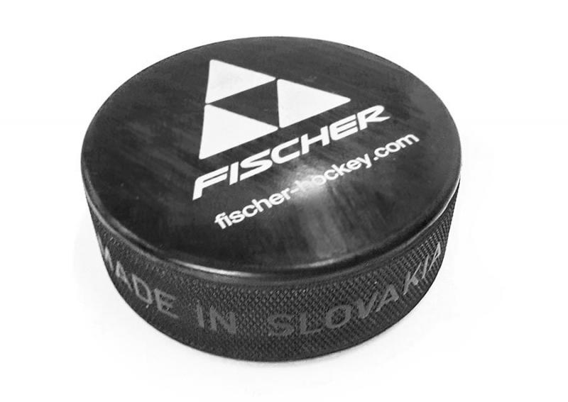 FISCHER Official game logo SR Шайба хоккейная  H05114 - 1