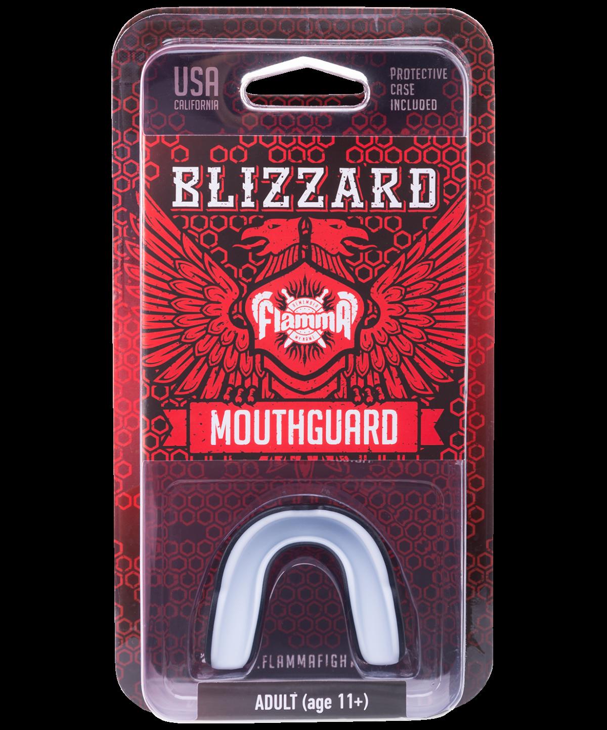 FLAMMA  Капа с футляром, взрослая Blizzard  MGF-031 mstr взрос. - 4