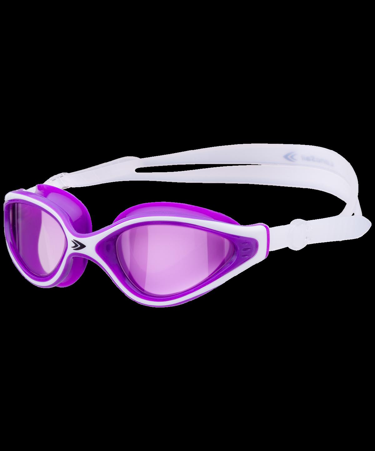 LONGSAIL Serena Очки для плавания  L011002: белый/фиолетовый - 1