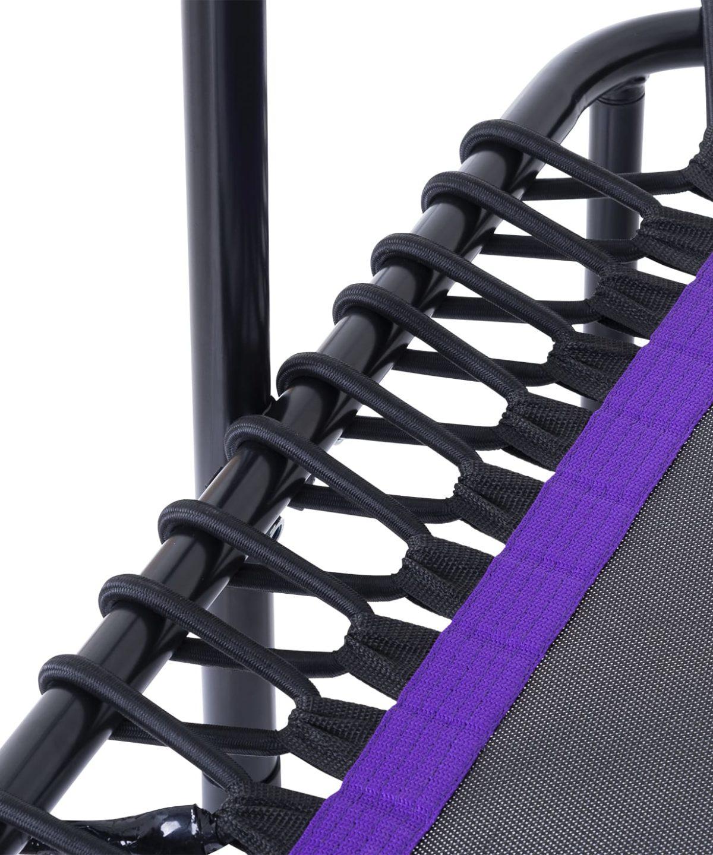 BASEFIT Батут 112 см. фиолетовый  TR-401 - 2