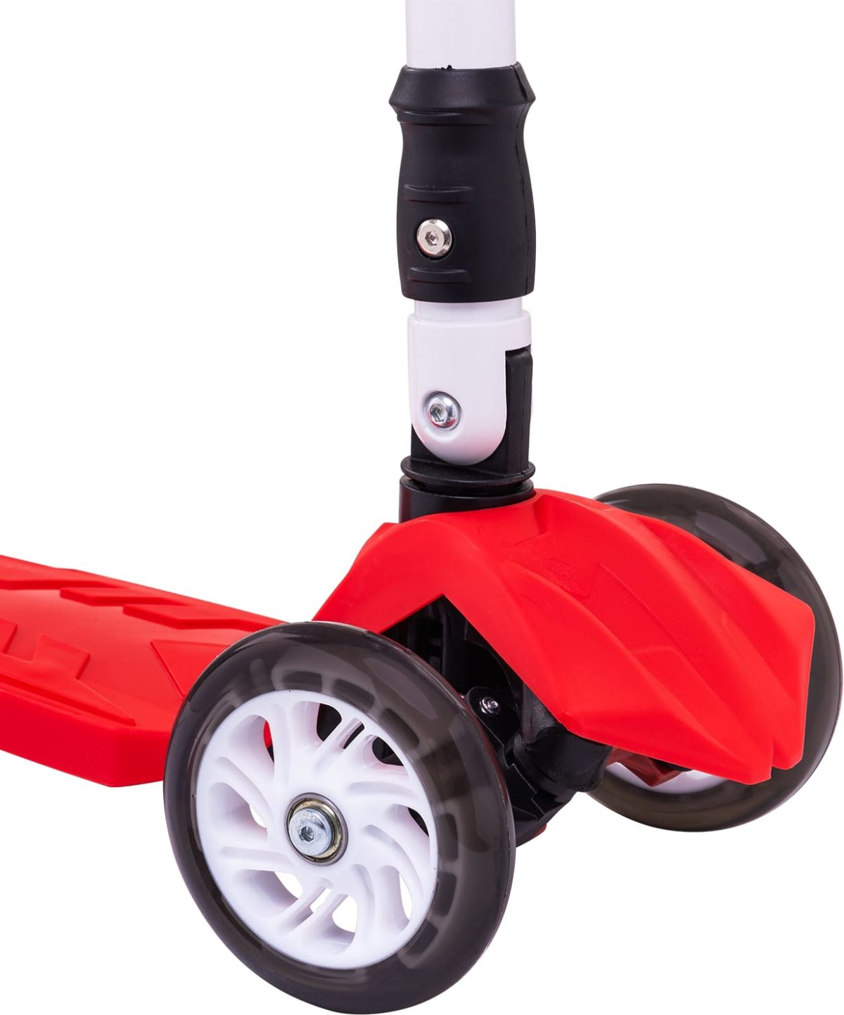 RIDEX Smart 3D Самокат 3-х колесный 120/80 мм  Smart: красный - 4