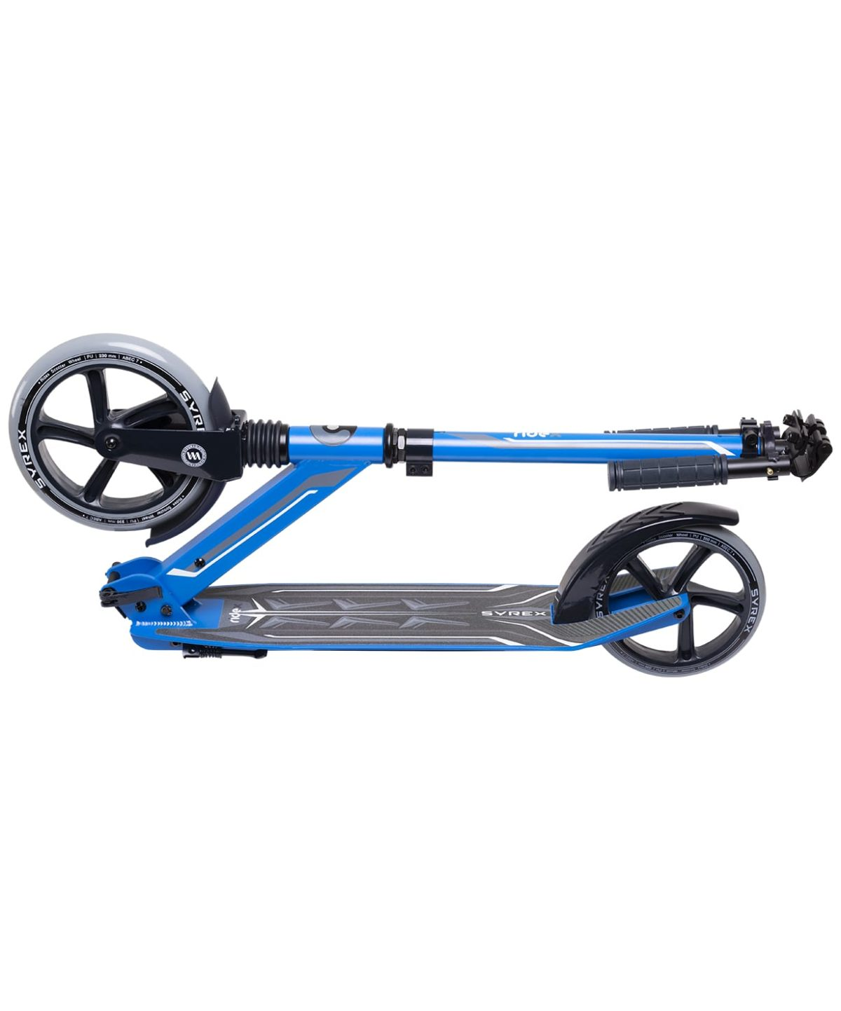 RIDEX Syrex Самокат 2-колесный  230/200 мм  Syrex: синий - 5