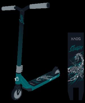 XAOS Stinger Самокат трюковый 110 мм  Stinger: Green - 6