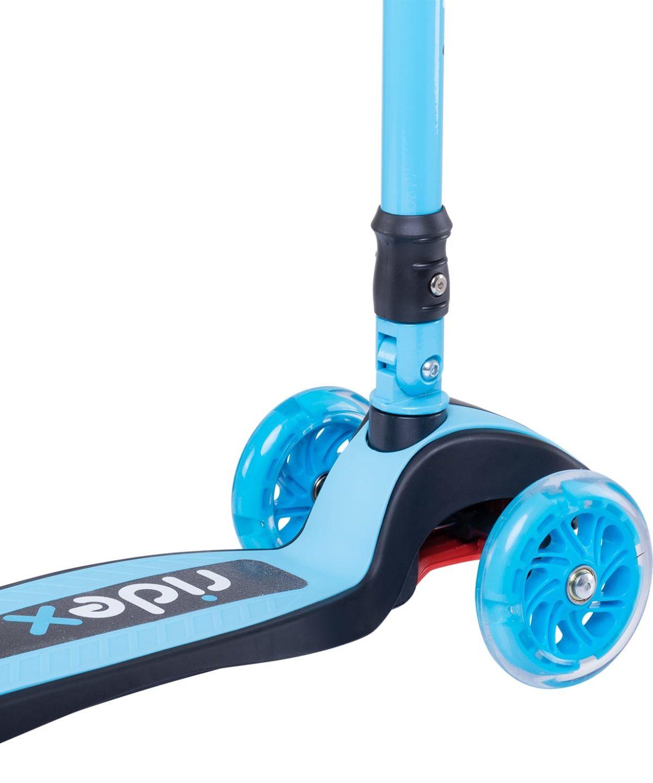 RIDEX 3D Tiny Tot Самокат 3-колесный Tiny Tot 120/80 мм  Tiny Tot: голубой - 3