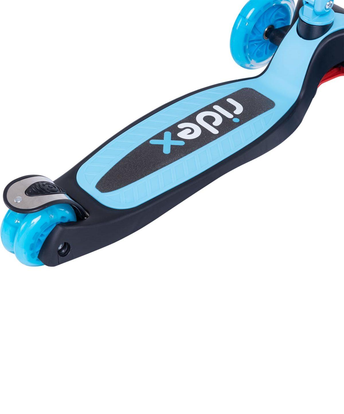 RIDEX 3D Tiny Tot Самокат 3-колесный Tiny Tot 120/80 мм  Tiny Tot: голубой - 4