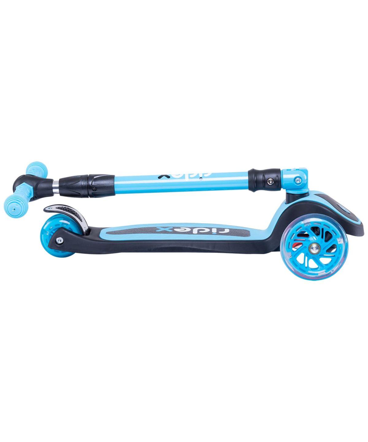 RIDEX 3D Tiny Tot Самокат 3-колесный Tiny Tot 120/80 мм  Tiny Tot: голубой - 5