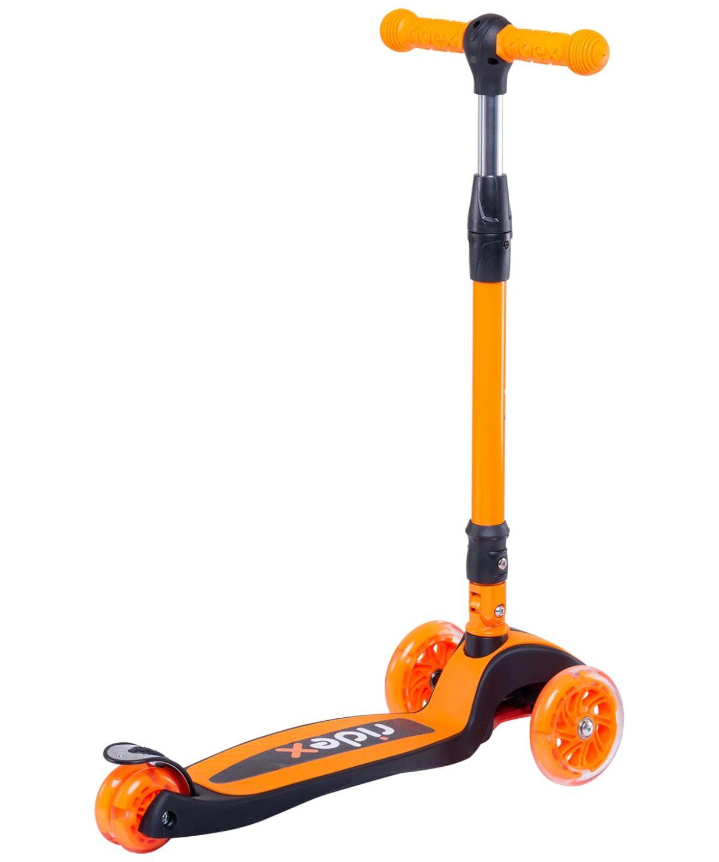 RIDEX 3D Tiny Tot Самокат 3-колесный Tiny Tot 120/80 мм  Tiny Tot: оранжевый - 2