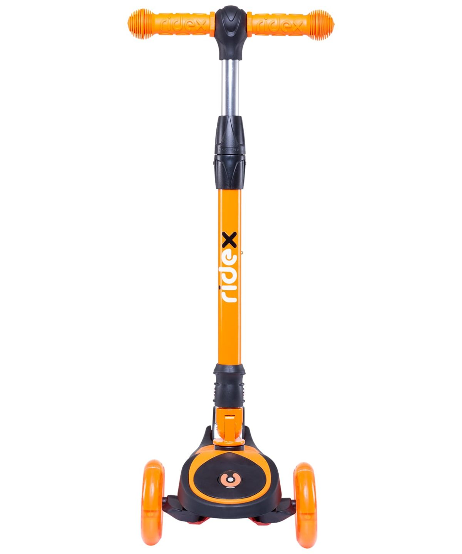 RIDEX 3D Tiny Tot Самокат 3-колесный Tiny Tot 120/80 мм  Tiny Tot: оранжевый - 3