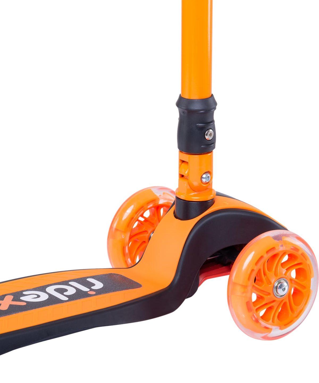 RIDEX 3D Tiny Tot Самокат 3-колесный Tiny Tot 120/80 мм  Tiny Tot: оранжевый - 4
