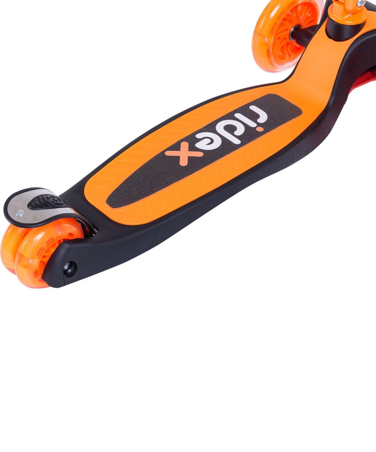 RIDEX 3D Tiny Tot Самокат 3-колесный Tiny Tot 120/80 мм  Tiny Tot: оранжевый - 5