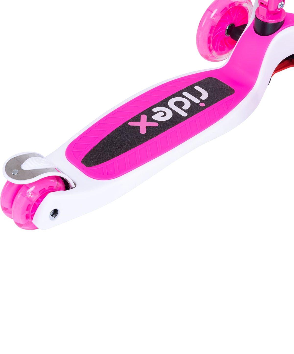 RIDEX 3D Tiny Tot Самокат 3-колесный Tiny Tot 120/80 мм  Tiny Tot: розовый - 5