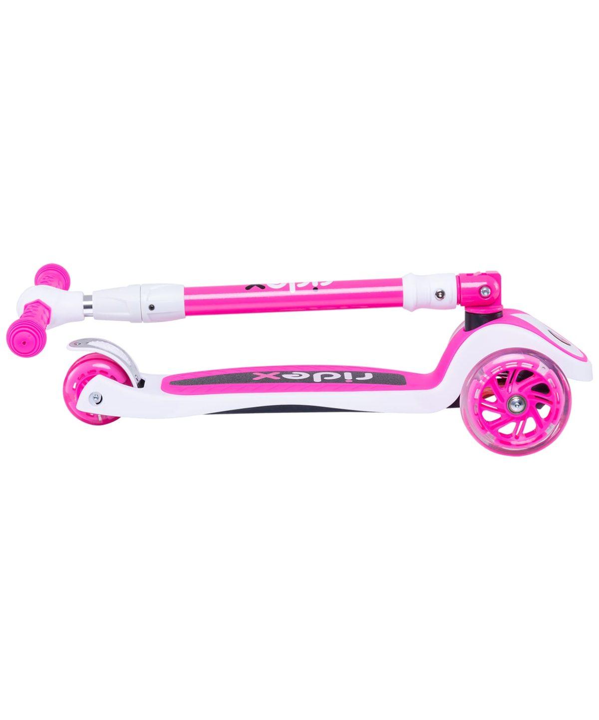 RIDEX 3D Tiny Tot Самокат 3-колесный Tiny Tot 120/80 мм  Tiny Tot: розовый - 6