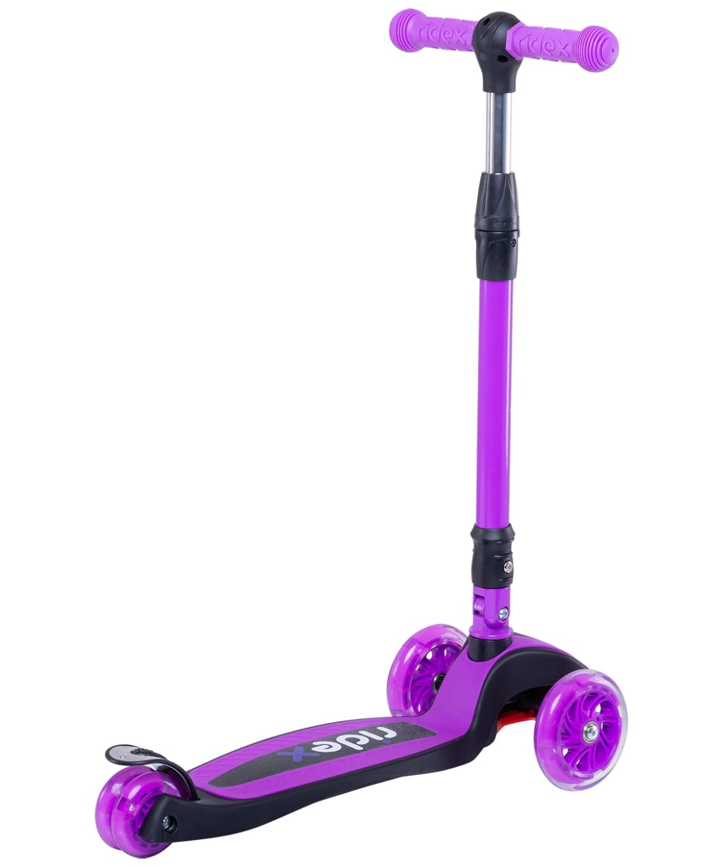 RIDEX 3D Tiny Tot Самокат 3-колесный Tiny Tot 120/80 мм  Tiny Tot: фиолетовый - 2