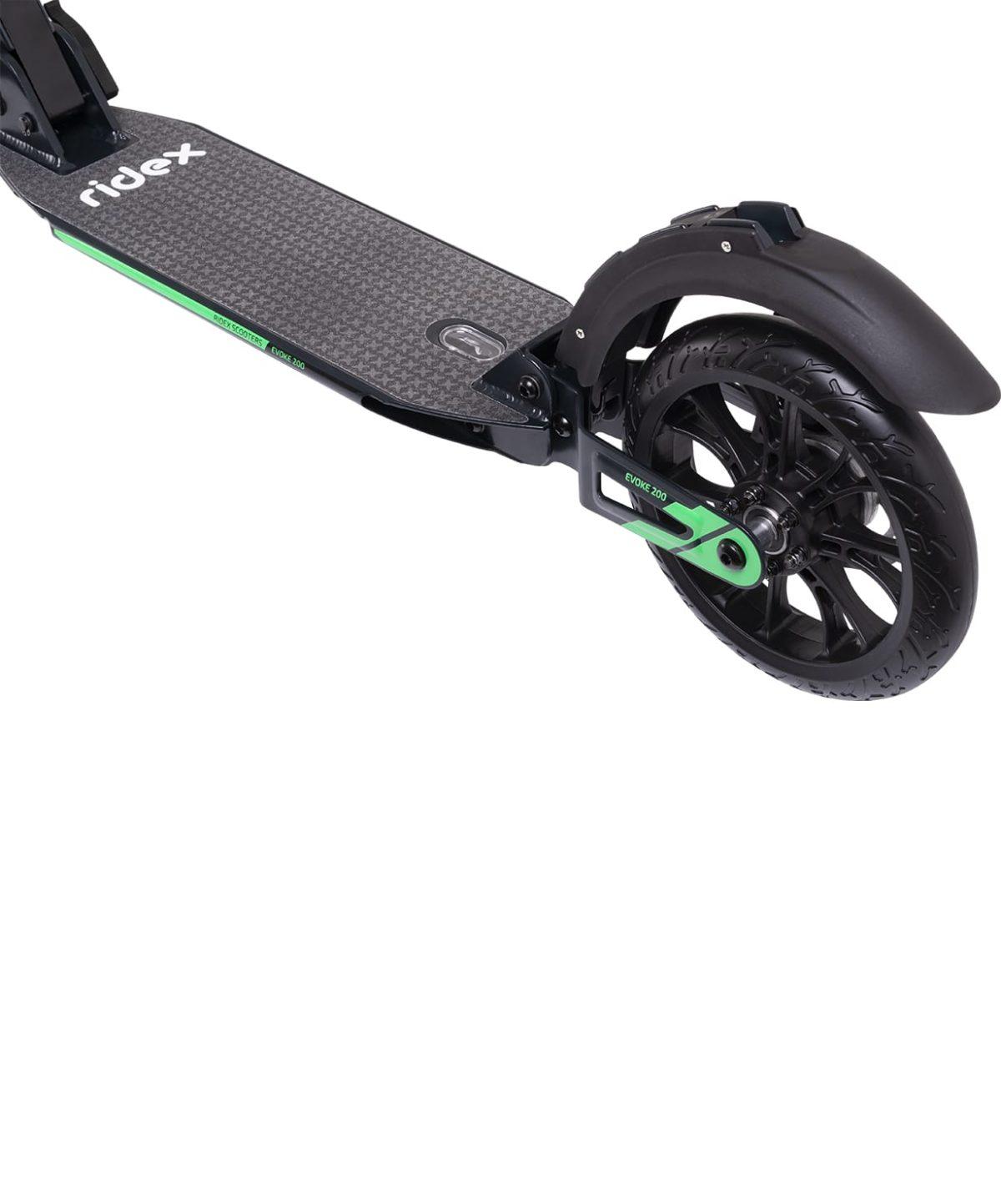 RIDEX Evoke Самокат 2-колесный с дисковым тормозом 200 мм  Evoke: зелёный - 5