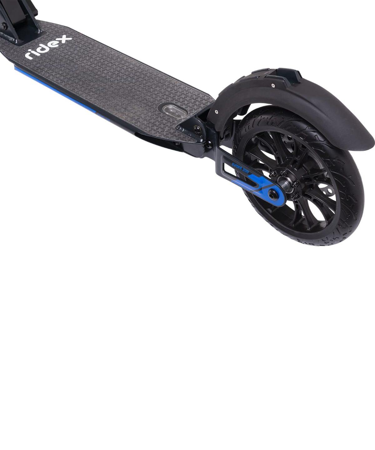 RIDEX Evoke Самокат 2-колесный с дисковым тормозом 200 мм  Evoke: синий - 5