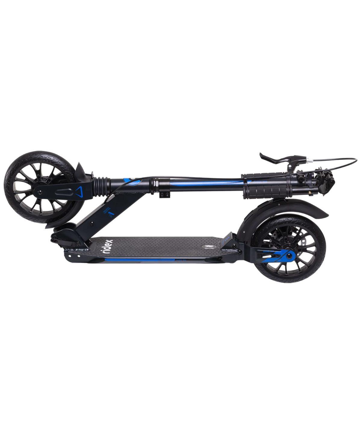 RIDEX Evoke Самокат 2-колесный с дисковым тормозом 200 мм  Evoke: синий - 6