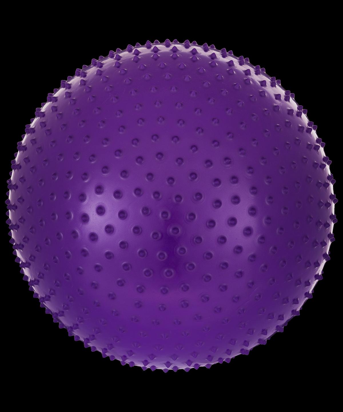 STARFIT Мяч гимнастический массажный 55см GB-301 : фиолетовый - 1