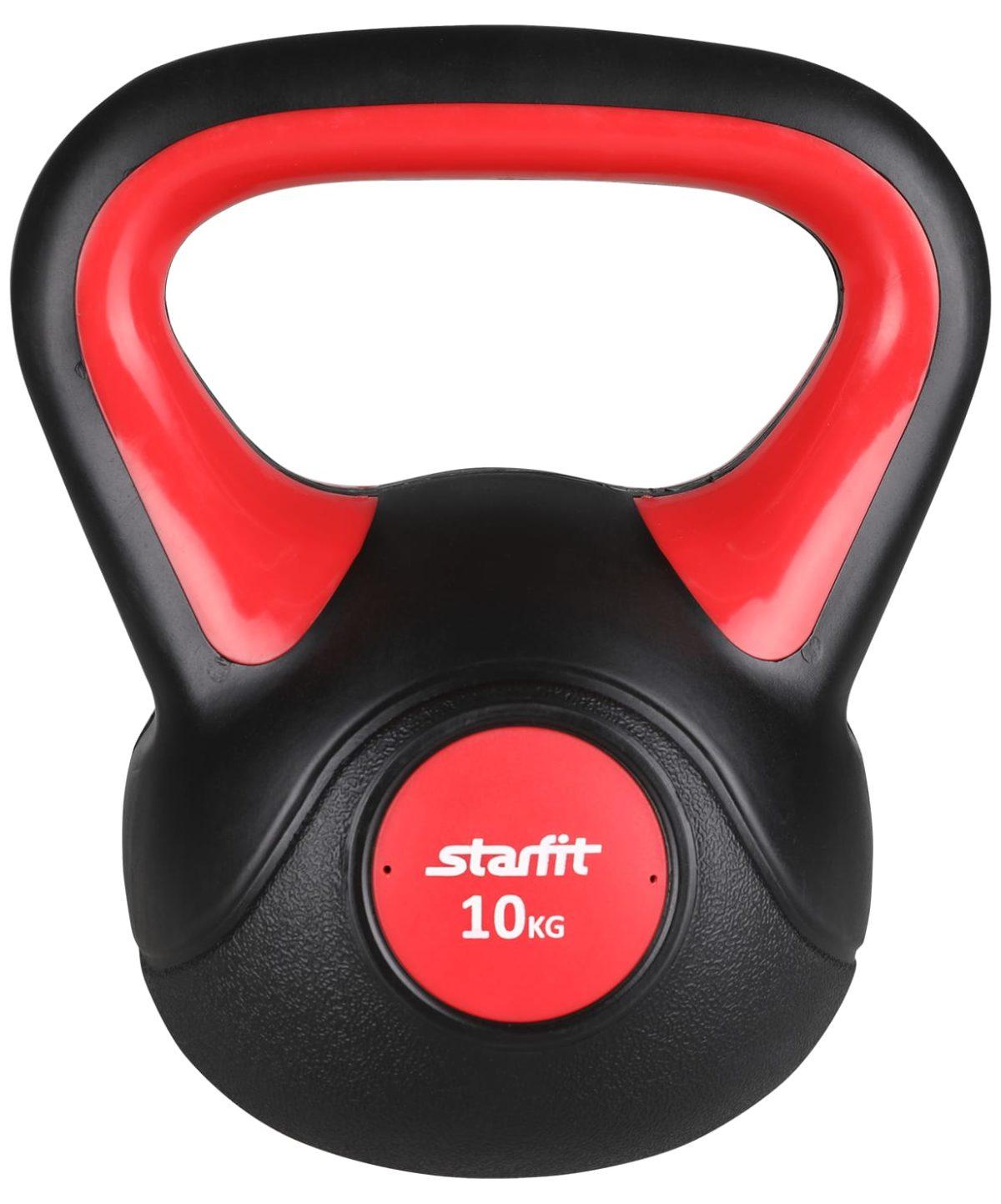 STARFIT Гиря пластиковая, 10 кг DB-502 - 1