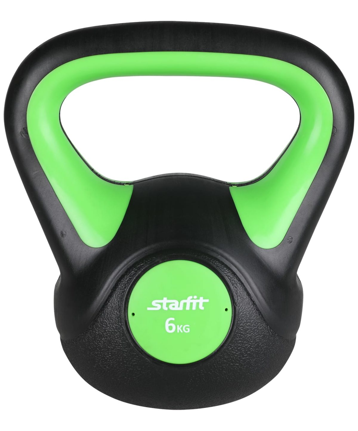 STARFIT Гиря пластиковая, 6 кг DB-502 - 1