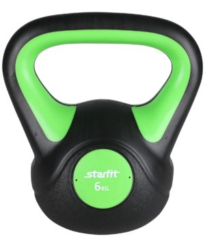 STARFIT Гиря пластиковая, 6 кг DB-502 - 7