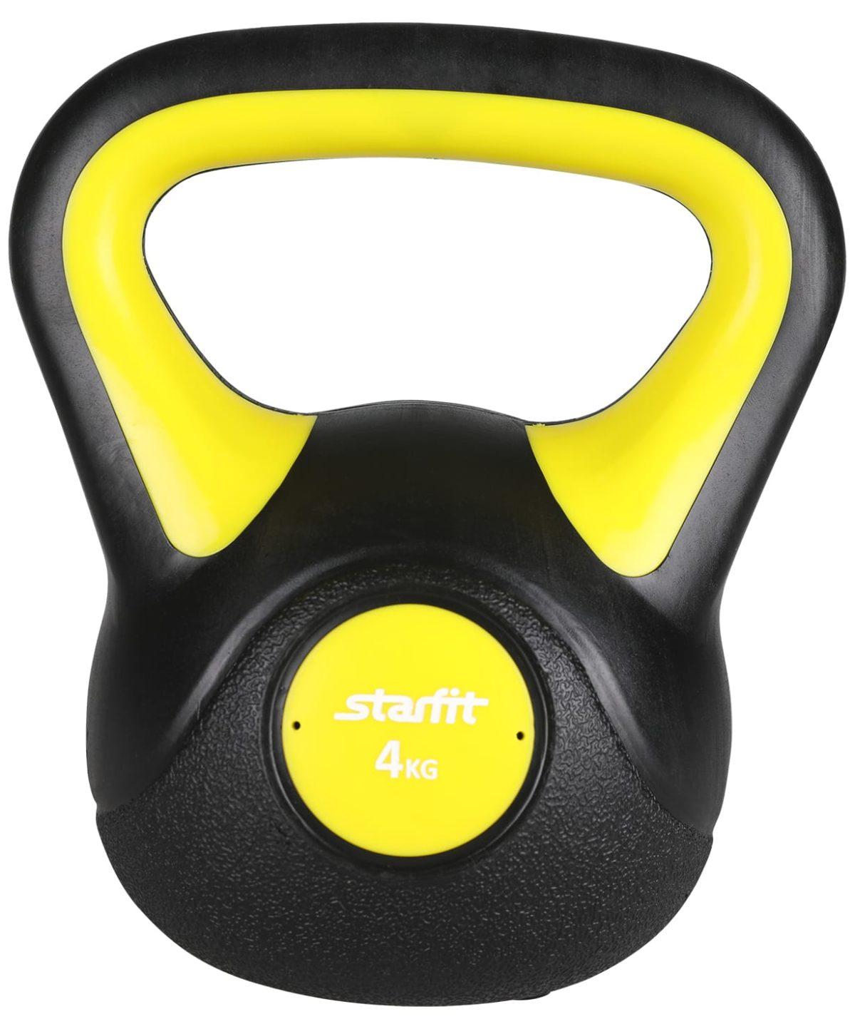 STARFIT Гиря пластиковая, 4 кг DB-502 - 1