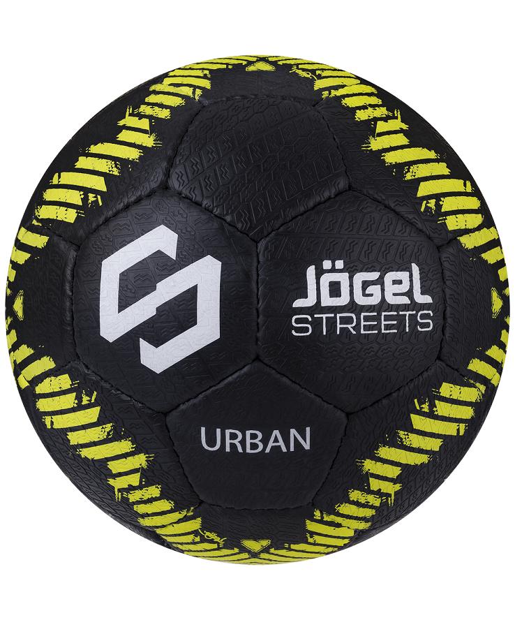 JOGEL Urban Мяч футбольный  JS-1110 №5: чёрный - 1