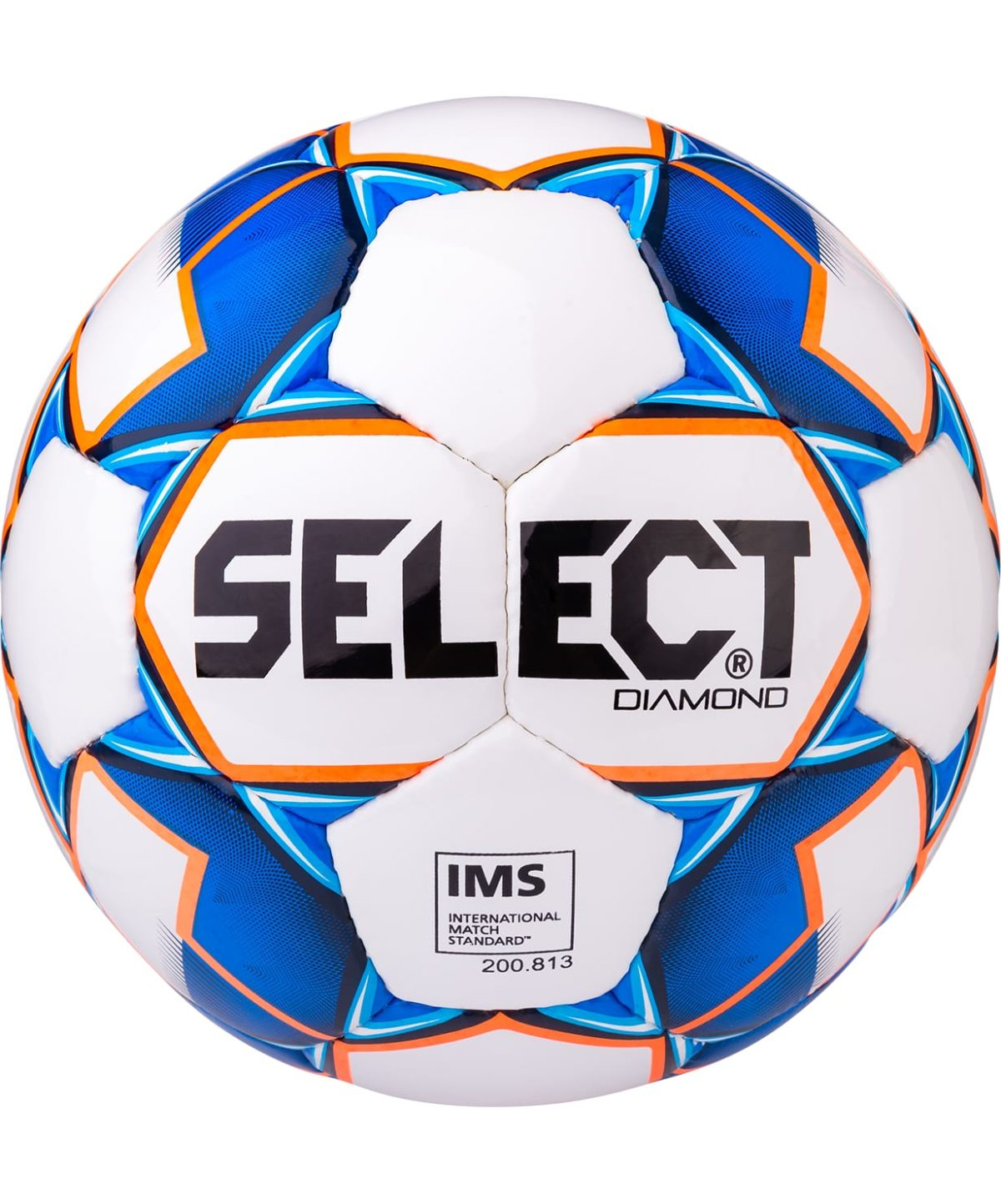 SELECT Diamond IMS Мяч футбольный  810015 №5 - 1