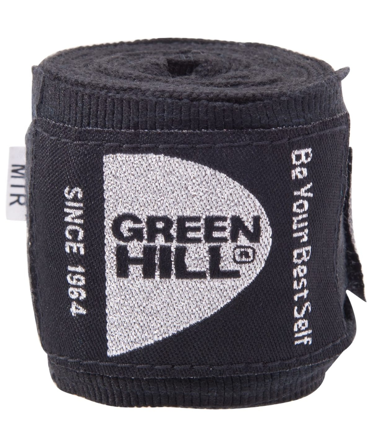 GREEN HILL Бинт боксерский 2,5м  эластик BP-6232c: чёрный - 1