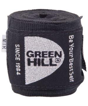 GREEN HILL Бинт боксерский 2,5м  эластик BP-6232c: чёрный - 12