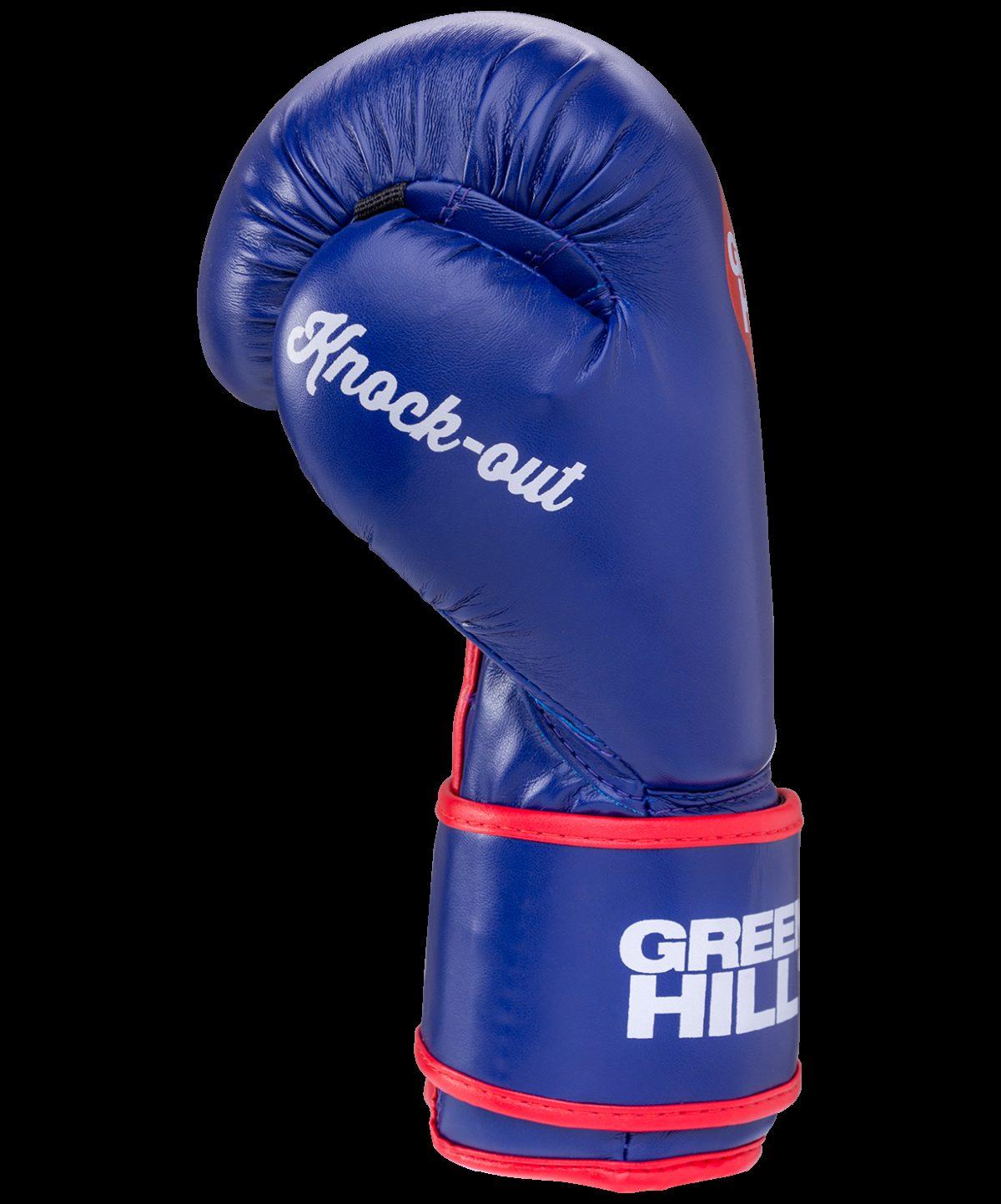 GREEN HILL Перчатки боксерские 10 oz Knockout  BGK-2266: синий - 3
