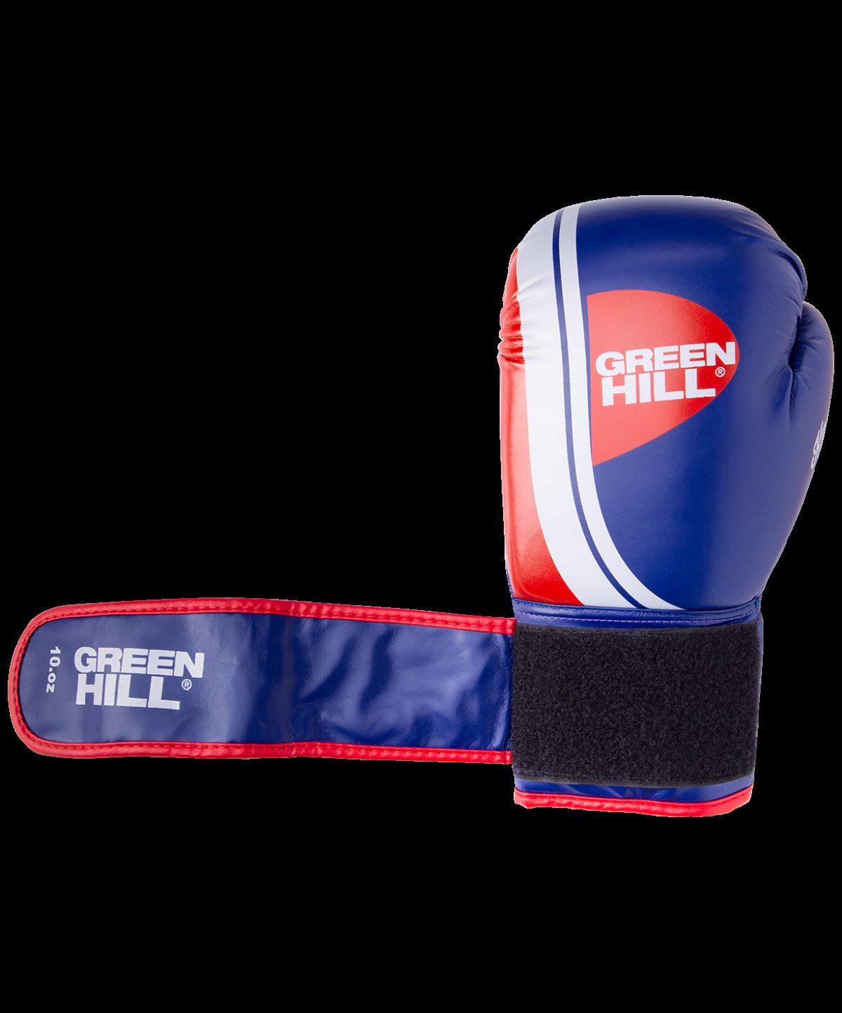 GREEN HILL Перчатки боксерские 10 oz Knockout  BGK-2266: синий - 4