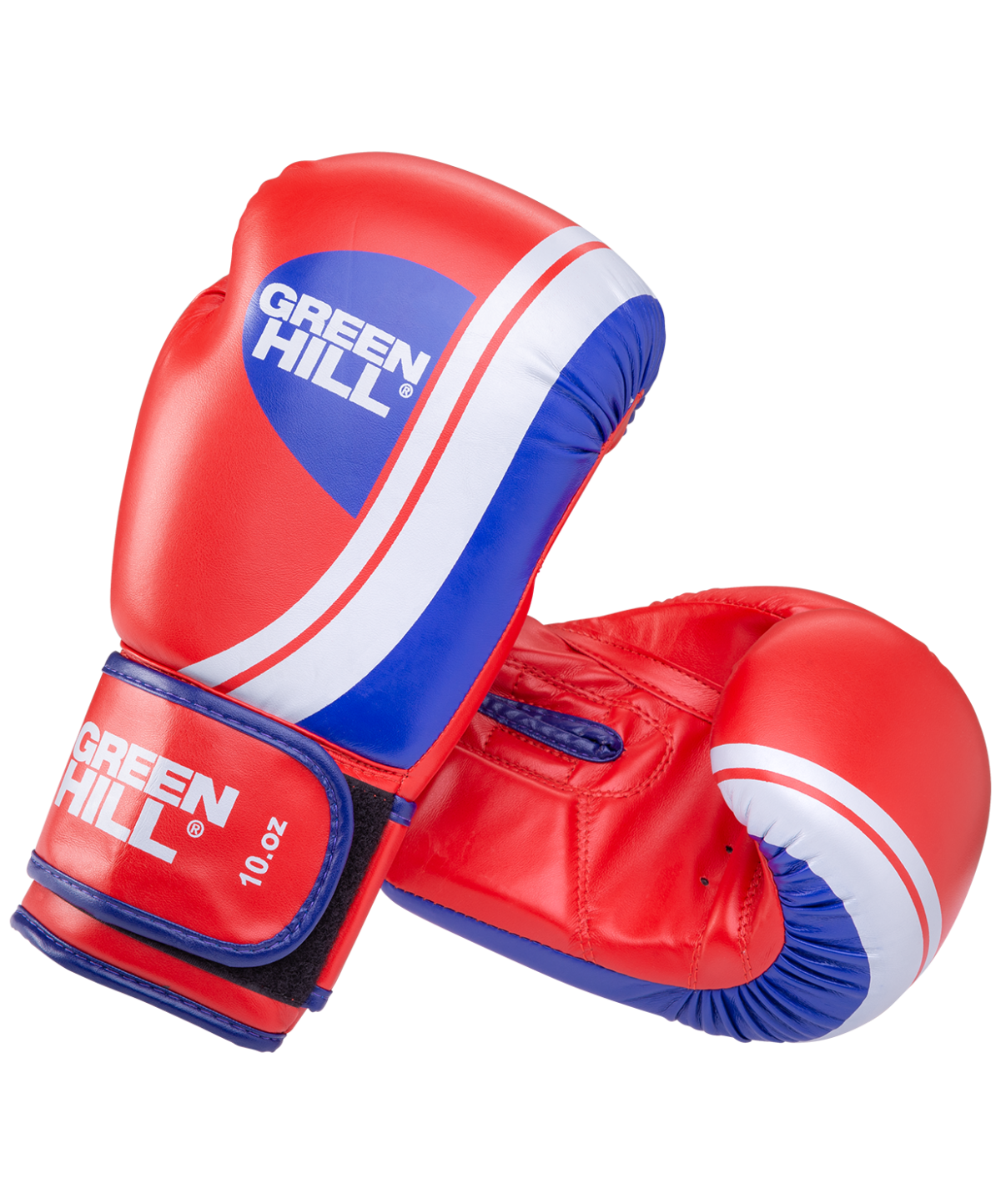 GREEN HILL Перчатки боксерские 10 oz Knockout  BGK-2266: красный - 1