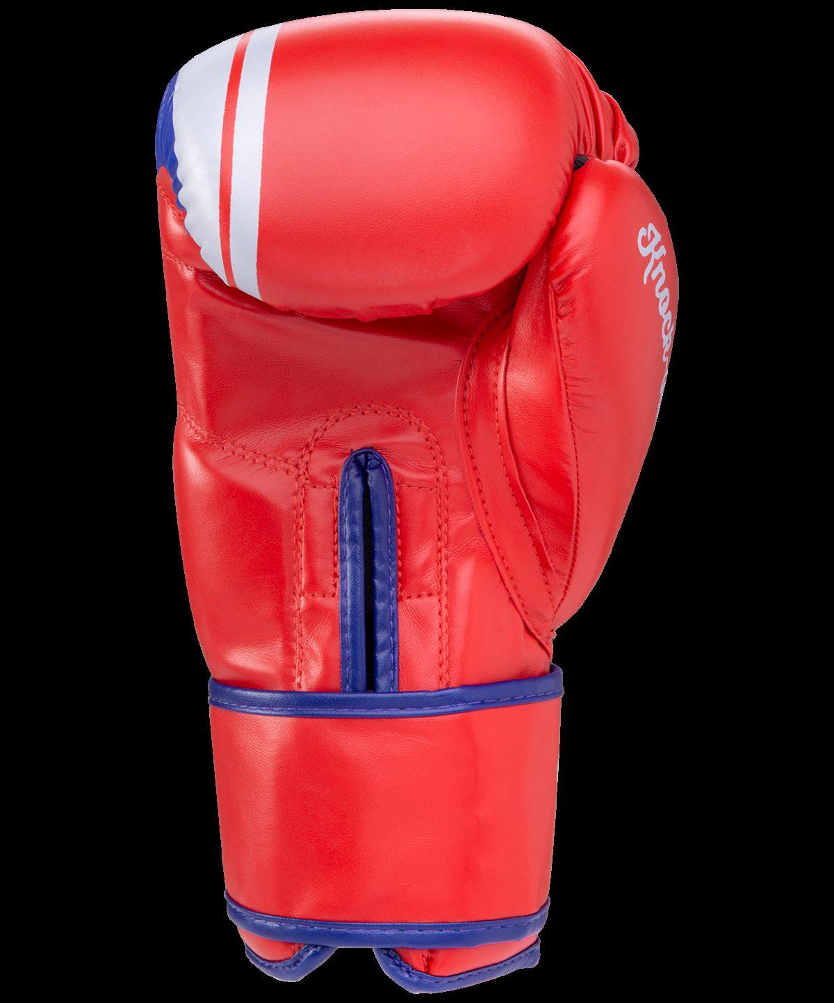 GREEN HILL Перчатки боксерские 10 oz Knockout  BGK-2266: красный - 3