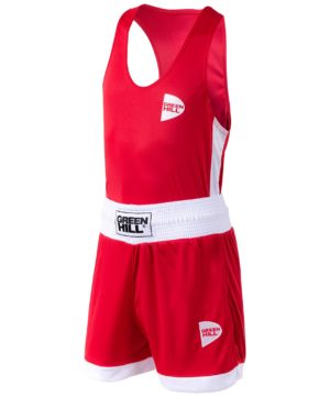 GREEN HILL Interlock Форма для бокса детская BSI-3805: красный - 3