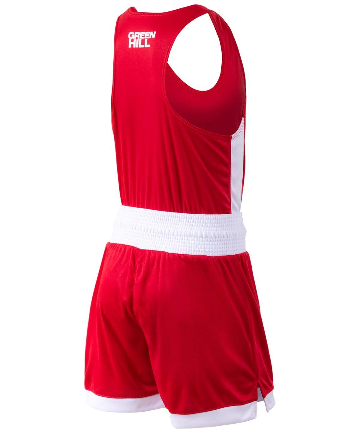 GREEN HILL Interlock Форма для бокса детская BSI-3805: красный - 2