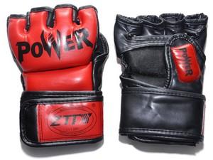 Перчатки для MMA  ZTM-004: красный - 1