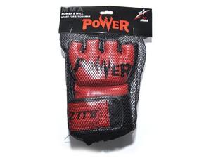 Перчатки для MMA  ZTM-004: красный - 3
