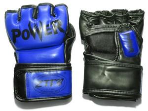 Перчатки для MMA  ZTM-004: синий - 1