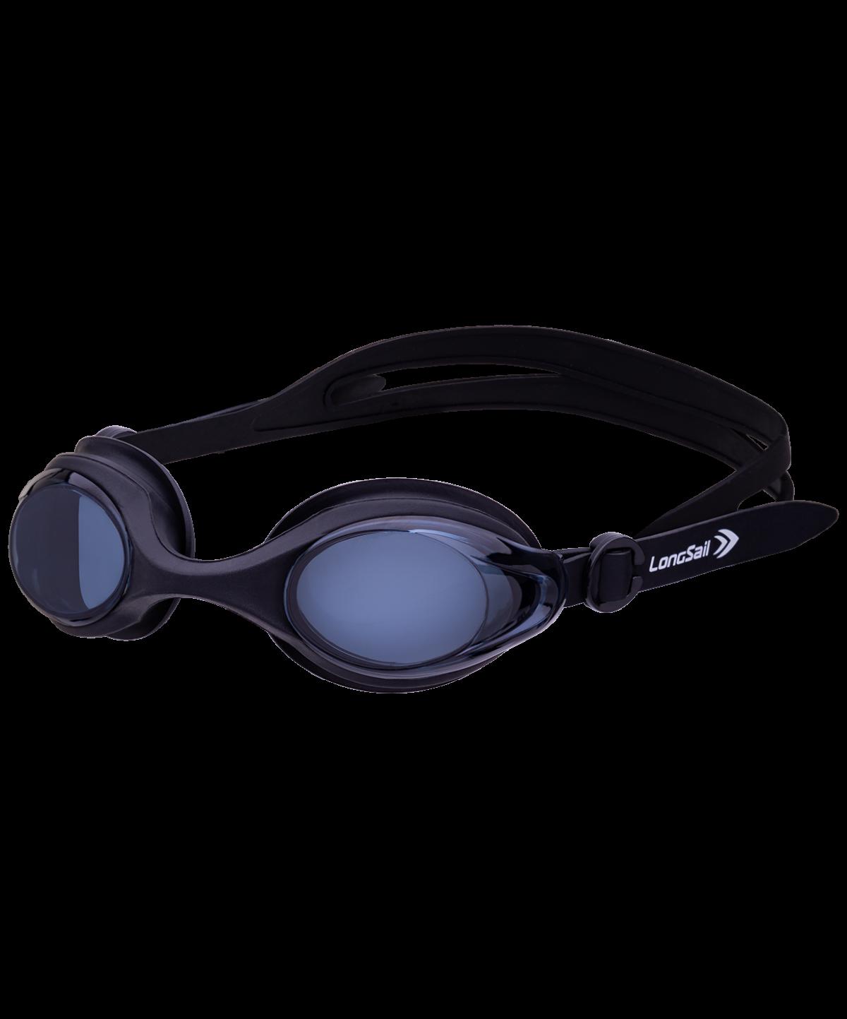LONGSAIL Motion Очки для плавания  L041647: чёрный/серый - 1