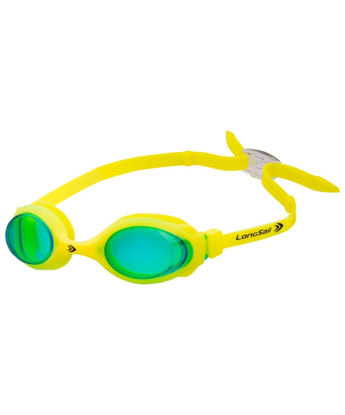 LONGSAIL Kids Marine Очки для плавания  L041020: зеленый/желтый - 1